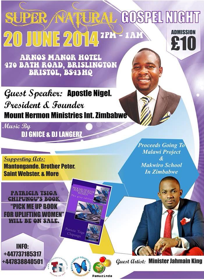 super natural gospel night 20 june 2014